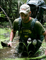 Ed Stafford on two year hike along the Amazon River