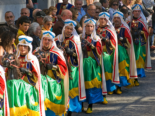 Moros y Cristianos (Moors and Christians) festival Spain, Alicante