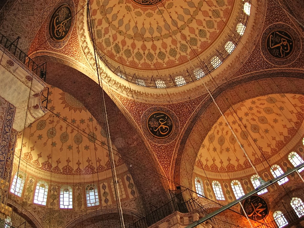 Ceiling shot - New Mosque, Istanbul