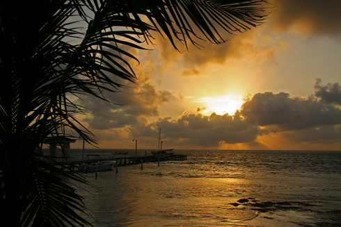 Belize sunrise