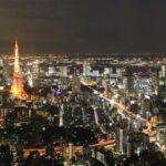 roppongi hills view Tokyo