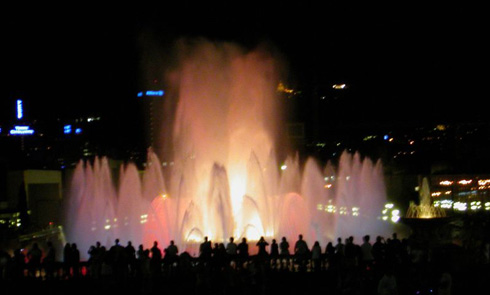 Magic Fountains Barcelona Montjuc