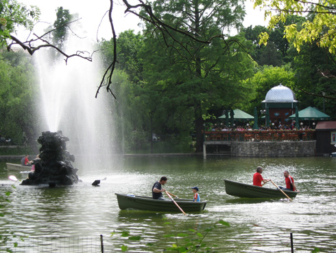 Cismigiu Park, Bucharest