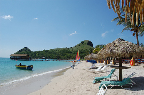 Saint Lucia Beach Honeymoon