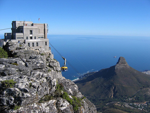 Trip to Table Mountain Cape Town