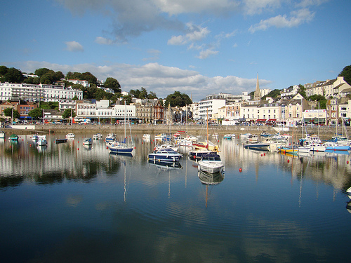Torquay Beach, English Riviera, UK