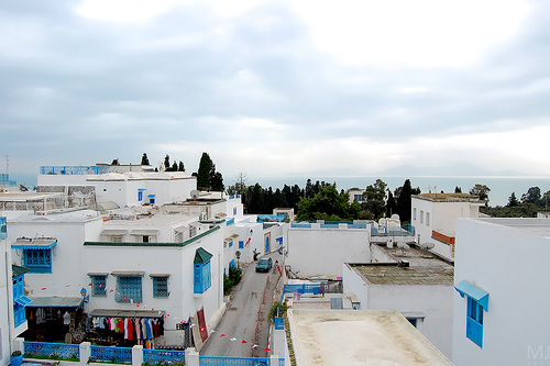 Sidi Bou Said village Tunisia