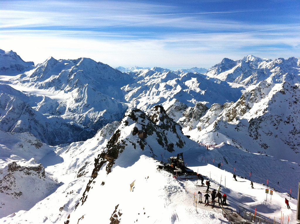 Verbier mountains