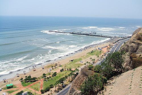 Lima Peru Beach Resorts District