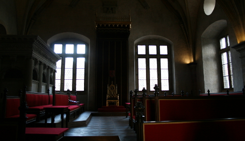 Prague Castle Throne Room