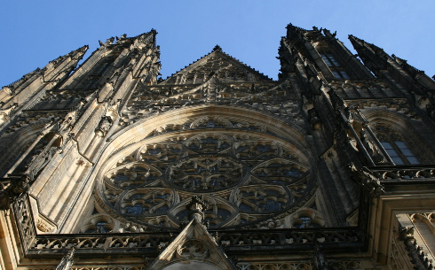 Detail St Vitus Cathedral