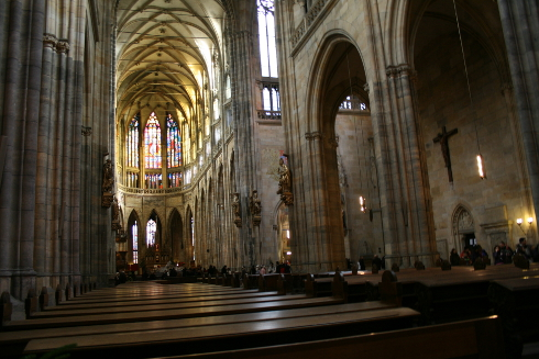 St Vitus Cathedral Interior