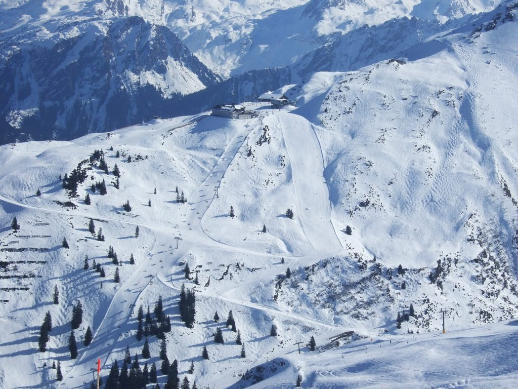 Ski slopes, Austria