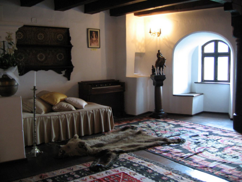 Bran Castle Interior, Bran, Romania