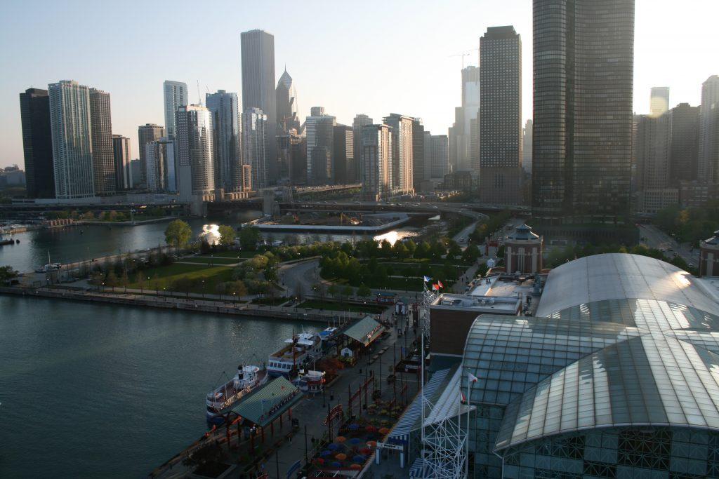 Chicago from the Ferris Wheel