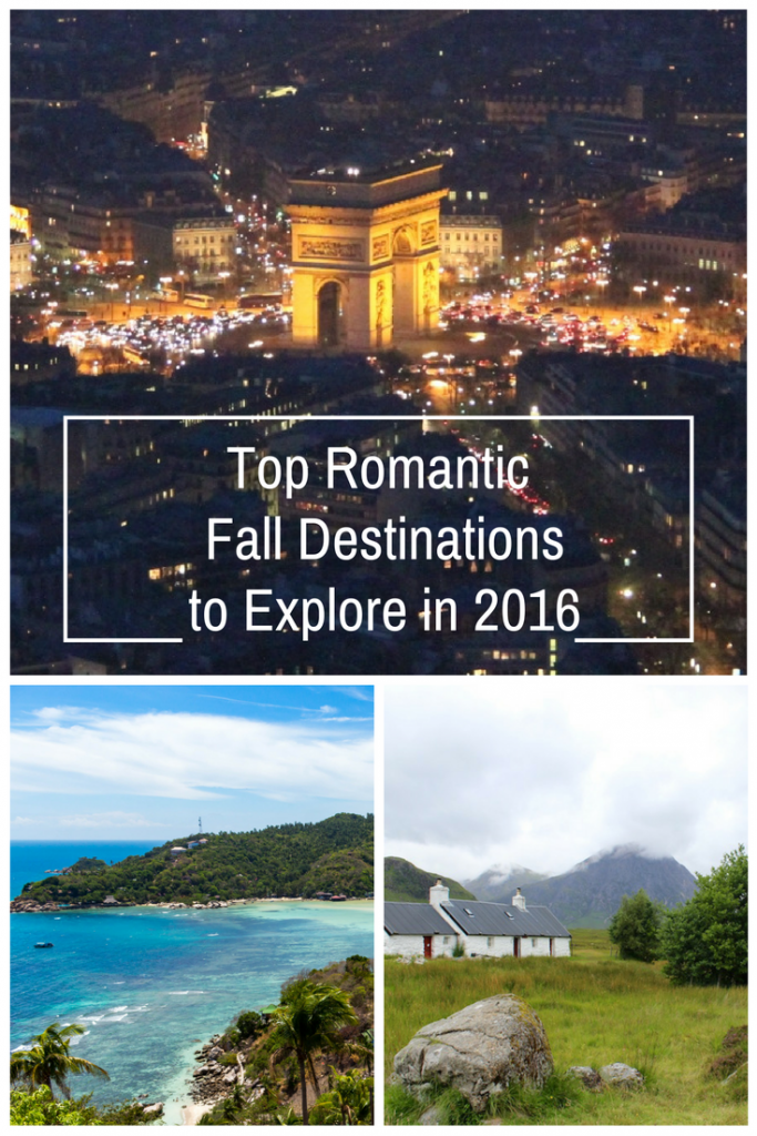 Travel Trends: Top Romantic Fall Destinations to Explore in 2016