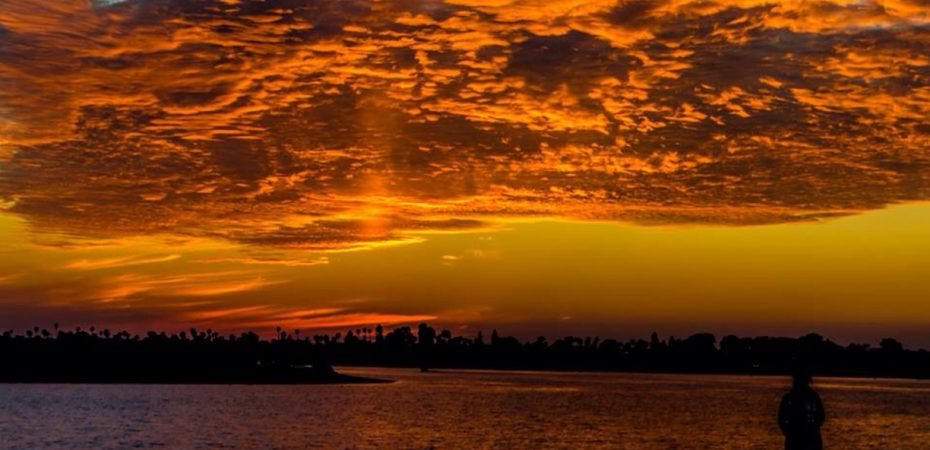 San Diego, California, Sunset