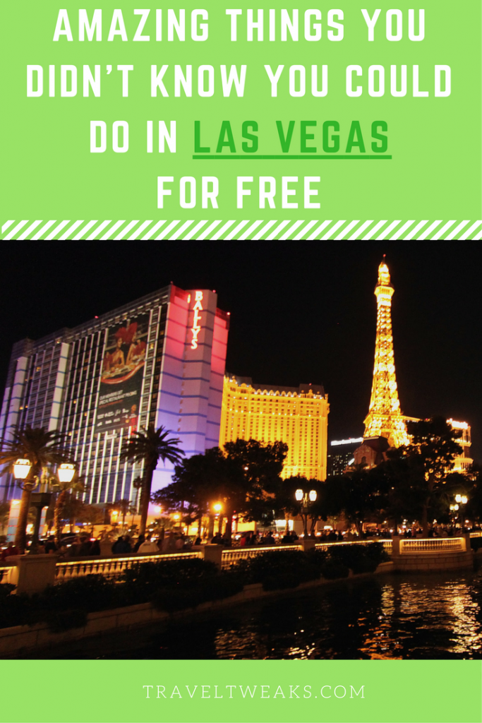 Amazing Things You Didn't Know You Could Do in Las Vegas for Free
