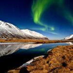 Landscape, Iceland, Northern Lights
