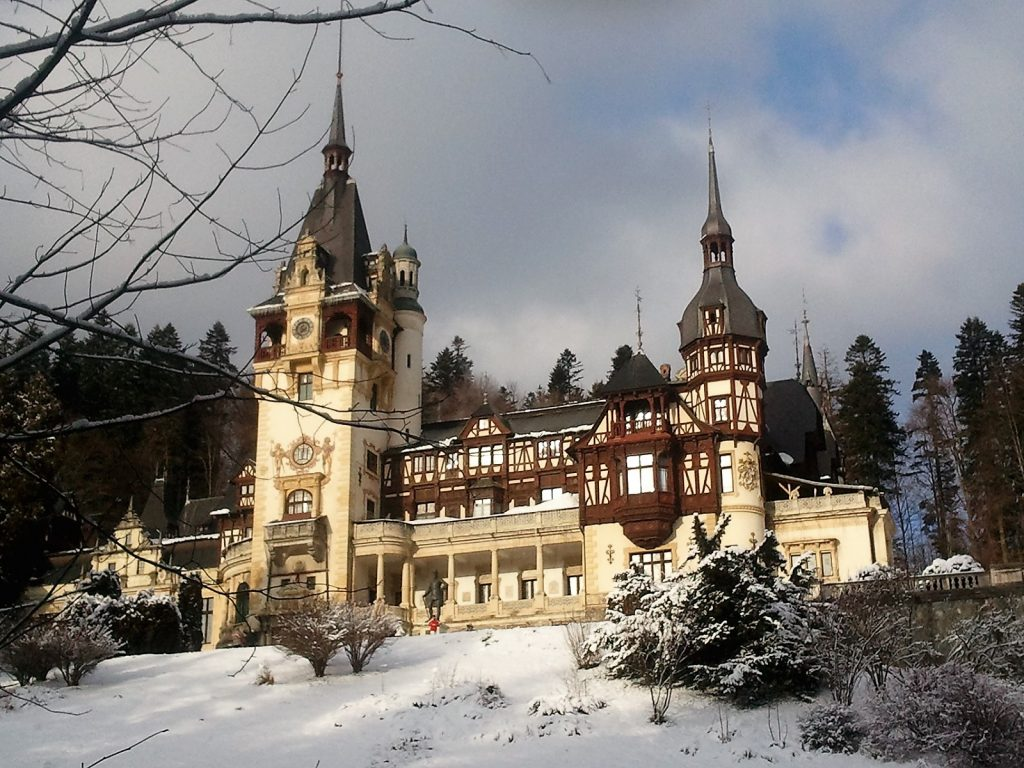 Peles Castle up close, Sinaia Romania