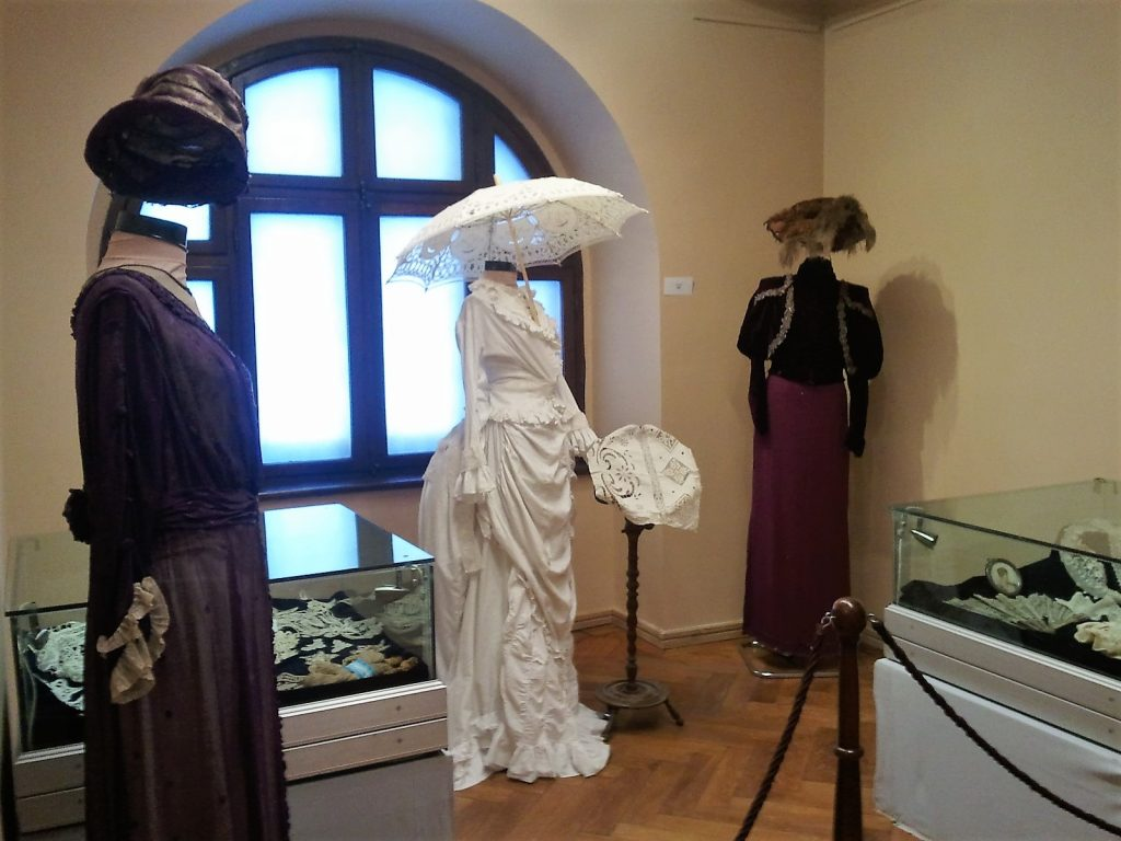 Vintage Wedding dress and gala outfits, Peles Castle, Sinaia