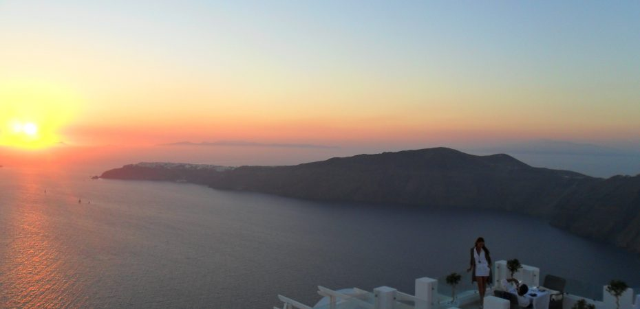 Sunset, Santorini - Greece