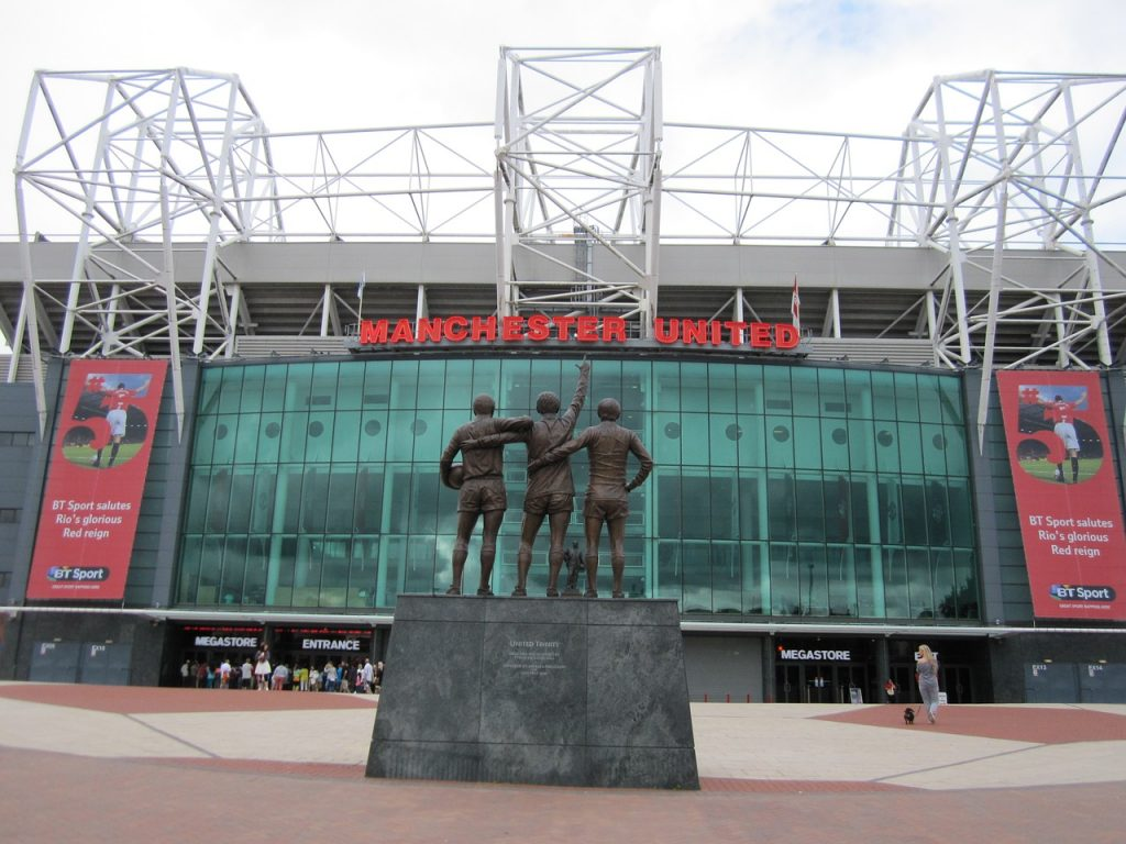 football stadium Manchester United