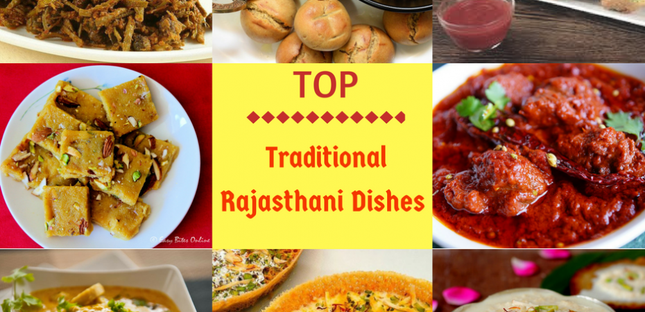 Top Rajasthani Dishes