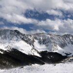skiers slope